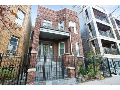 Multi Family Home For Sale: 3721 North Ashland Avenue