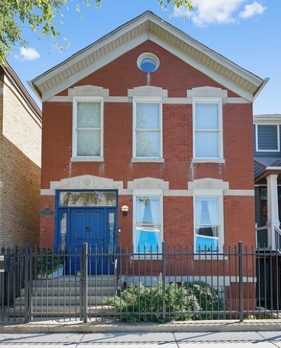 Chicago Single Family Home For Sale: 2253 North Greenview Avenue