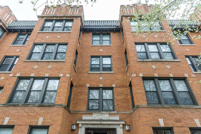 Condo/Townhouse For Sale: 4818 North Hoyne Avenue #2