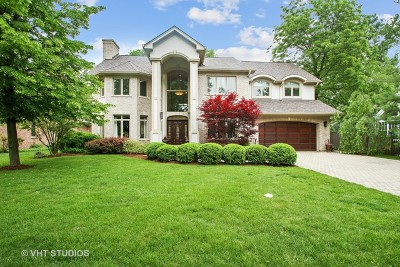 Glenview Single Family Home For Sale: 906 Queens Lane