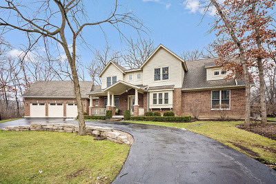 Libertyville Single Family Home For Sale: 28491 North Ivy Lane