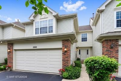 Hoffman Estates Condo/Townhouse For Sale: 2260 Seaver Lane #2260