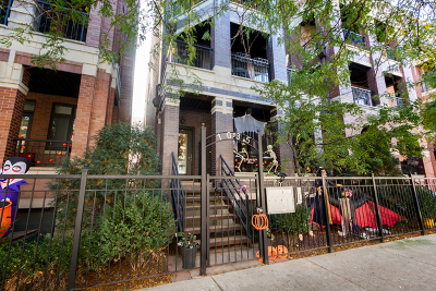 Condo/Townhouse For Sale: 1035 West Monroe Street #4