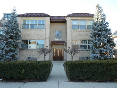 Oak Park Condo/Townhouse For Sale: 415 South Ridgeland Avenue #2