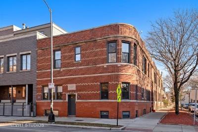 Condo/Townhouse For Sale: 3733 North Damen Avenue #1