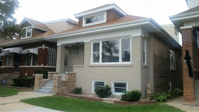 Chicago Single Family Home Re-Activated: 4245 North Mason Avenue