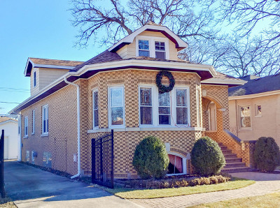 Elmwood Park Single Family Home For Sale: 1743 North 79th Avenue