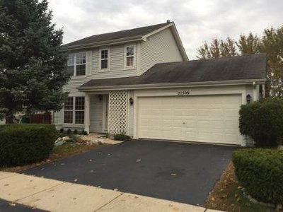 Plainfield Rental For Rent: 21509 West Georgetown Drive