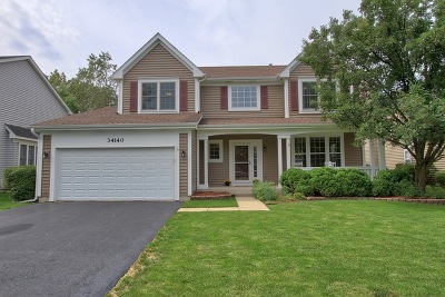 Grayslake Single Family Home For Sale: 34140 North Sulkey Drive
