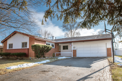 Hoffman Estates Single Family Home Contingent: 565 Milton Lane