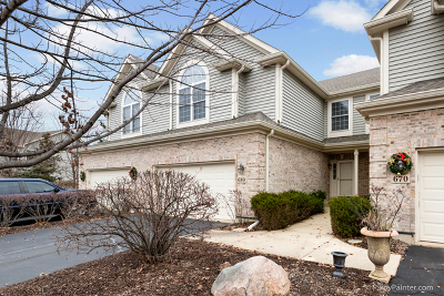 Lake In The Hills Condo/Townhouse For Sale: 680 Juniper Lane