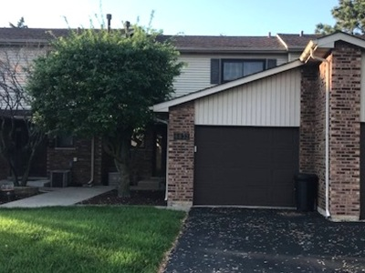 Tinley Park Condo/Townhouse For Sale: 6832 Kingston Road