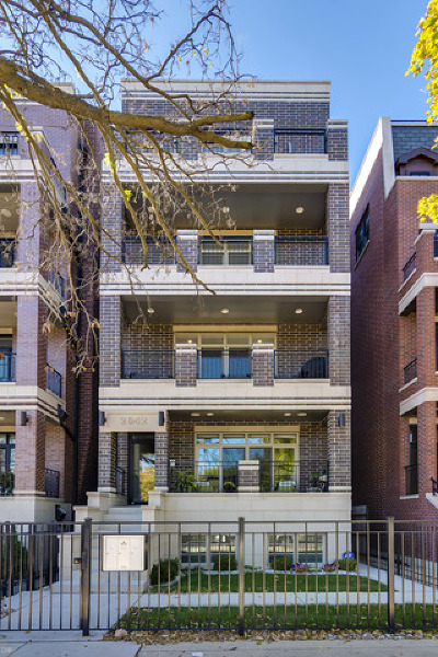 Condo/Townhouse For Sale: 2042 North Burling Street #2