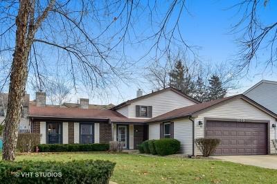 Buffalo Grove Single Family Home For Sale: 1239 Mill Creek Drive