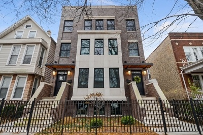 Condo/Townhouse For Sale: 1841 West Addison Street