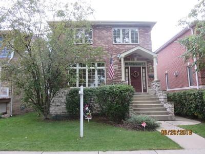 Chicago Single Family Home For Sale: 7140 North Osceola Avenue
