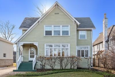 Winnetka Single Family Home For Sale: 1176 Oak Street