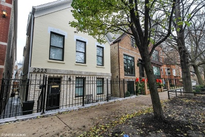 Chicago Single Family Home For Sale: 2223 West Charleston Street