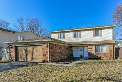 Bolingbrook Single Family Home For Sale: 1108 Quail Run Avenue