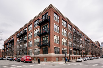 Condo/Townhouse For Sale: 1040 West Adams Street #417