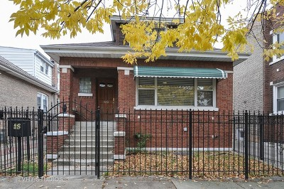 Chicago Single Family Home Re-Activated: 4642 West Schubert Avenue