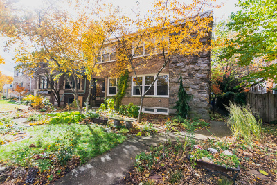 Evanston Single Family Home For Sale: 604 Barton Avenue