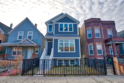 Chicago Single Family Home For Sale: 3721 West Wabansia Avenue