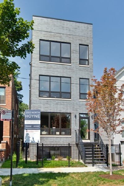 Condo/Townhouse For Sale: 2302 North Hoyne Avenue #2