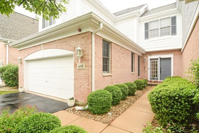 Naperville Condo/Townhouse For Sale: 4115 Stableford Lane