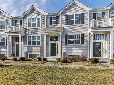 Pingree Grove Condo/Townhouse For Sale: 1698 Ruby Drive