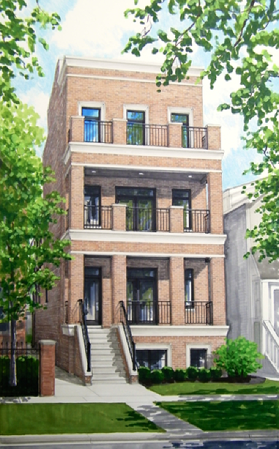 Condo/Townhouse For Sale: 832 West Altgeld Street #1