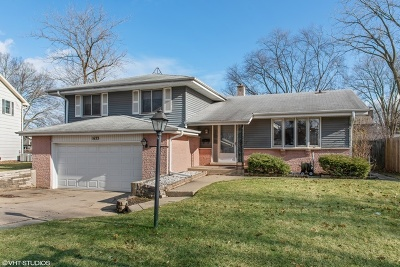 Glenview Single Family Home For Sale: 1633 Imperial Drive