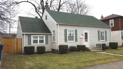 Evergreen Park Single Family Home For Sale: 9237 South St Louis Avenue