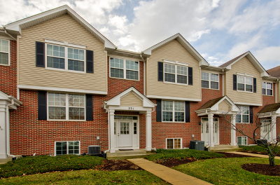 Romeoville Condo/Townhouse For Sale: 231 South Oak Creek Lane