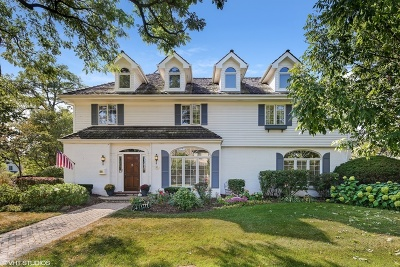 Hinsdale Single Family Home For Sale: 206 West Ayres Street