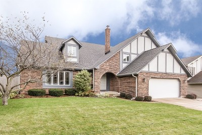 Hoffman Estates Single Family Home For Sale: 5195 Barcroft Drive