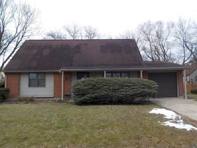 Hoffman Estates Single Family Home For Sale: 645 Lafayette Lane