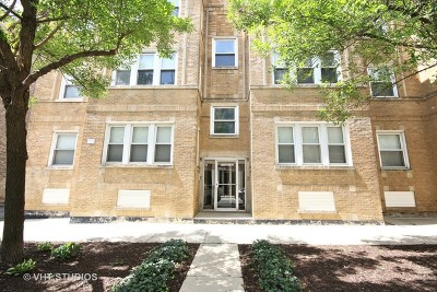 Condo/Townhouse For Sale: 4750 North Washtenaw Avenue #1