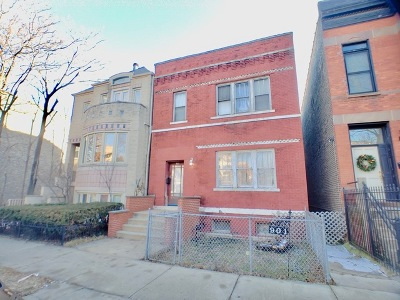 Chicago Multi Family Home For Sale: 901 South Oakley Boulevard