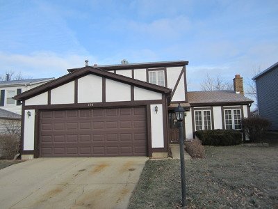 Streamwood Single Family Home For Sale: 150 Lasalle Road