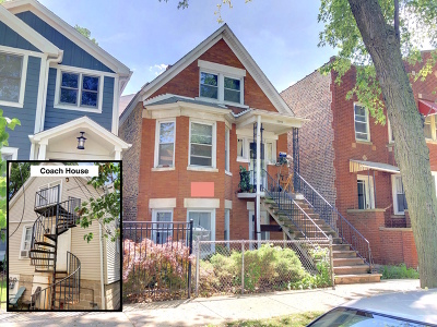 Chicago Multi Family Home New: 2919 North Seeley Avenue