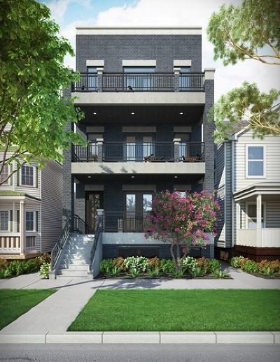 Multi Family Home For Sale: 837 North Leavitt Street
