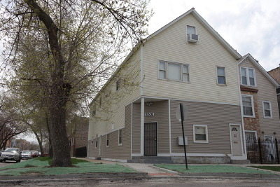 Chicago Multi Family Home For Sale: 3501 West Palmer Street