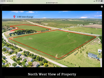 Kane County Residential Lots & Land Price Change: 00 Bliss Road