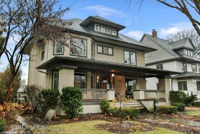 Oak Park Single Family Home For Sale: 619 Fair Oaks Avenue