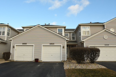 Lockport Condo/Townhouse For Sale: 16537 South Windsor Lane