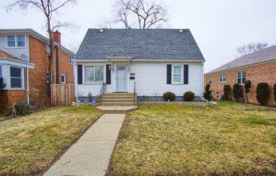 Calumet Park Single Family Home For Sale: 12524 South Justine Street