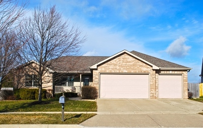 Sycamore Single Family Home Price Change: 979 Hamilton Drive