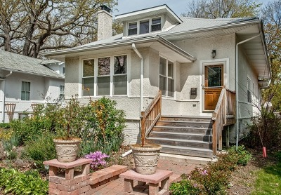 Wilmette Single Family Home Price Change: 412 Gregory Avenue