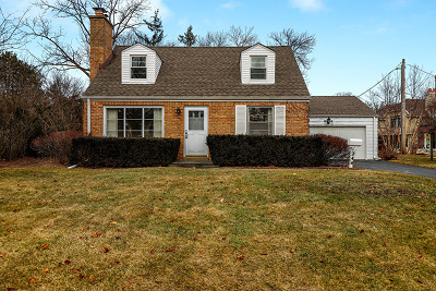Deerfield Single Family Home For Sale: 1244 Elmwood Avenue